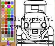 Old car painting gratis spiele