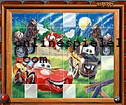 Sort my tiles mcqueen Cars online spiele